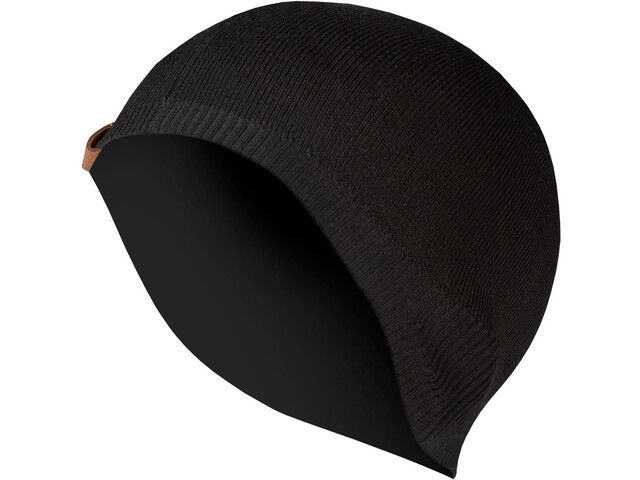 Endura BaaBaa II Czapka pod kask Merino Mężczyźni, czarny